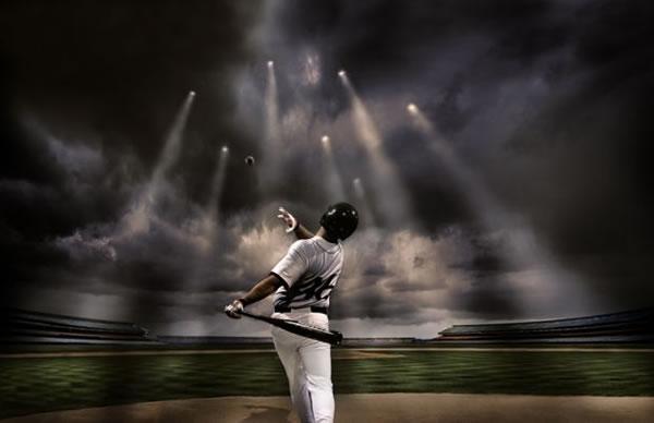 """Веселая картинка - """"Недетский бейсбол"""""""